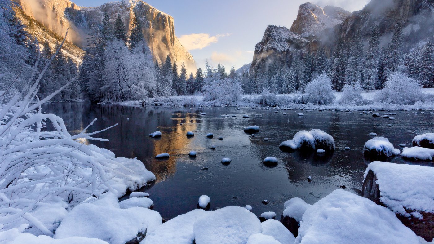 Winter Season in Yosemite National Park